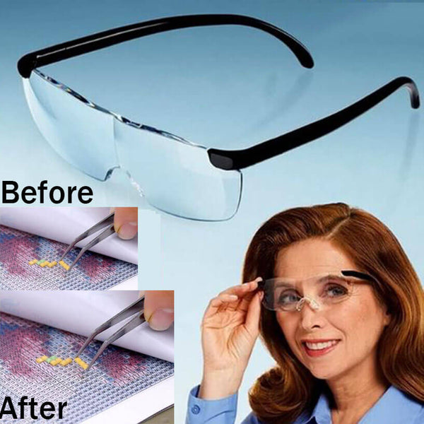 Diamond Painting Magnifying Glasses Portable Eyewear - OLOEE