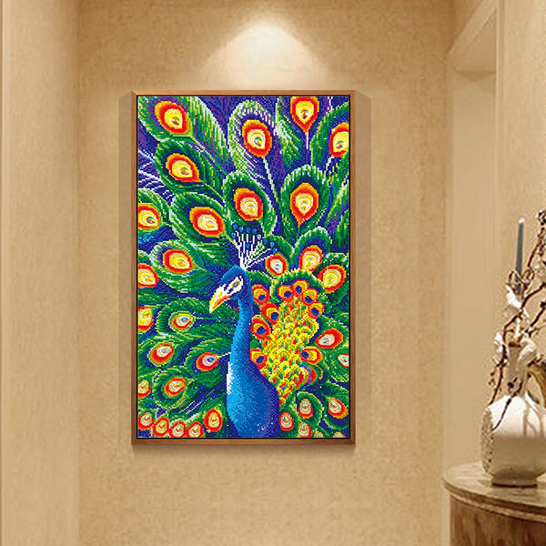 Diamond Painting Peacock - OLOEE