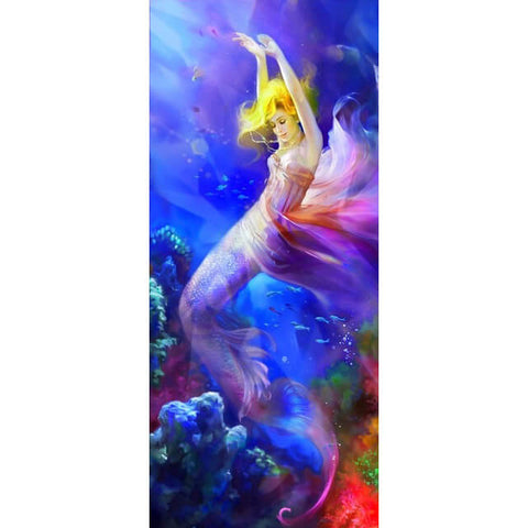 Diamond Painting Colorful Mermaid - OLOEE
