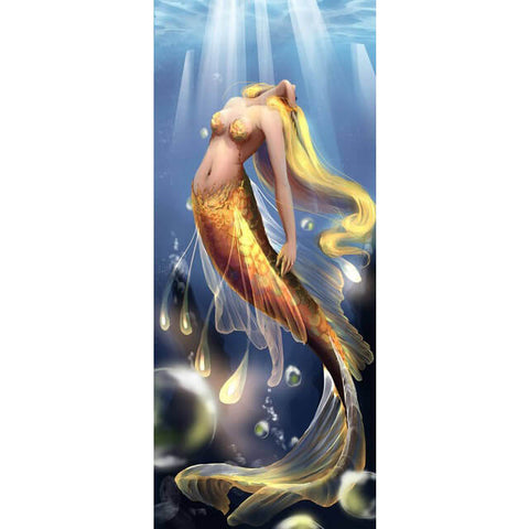 Diamond Painting Yellow Hair Mermaid - OLOEE