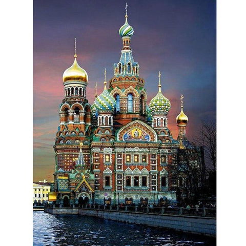 Diamond Painting Church of the Savior - OLOEE