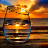 Diamond Painting Beautiful Sunset - OLOEE