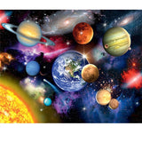 Diamond Painting Solar System Facts - OLOEE