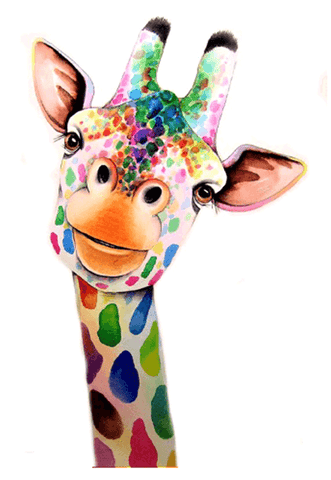 Diamond Painting Giraffe Painting - OLOEE