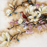 Diamond Painting Bird On Floral Branch - OLOEE