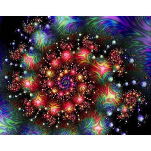 Diamond Painting Galaxy Mandala - OLOEE
