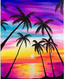 Diamond Painting Rainbow Coconut Tree - OLOEE