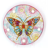 Diamond Painting Butterfly Diamond Painting Light - OLOEE