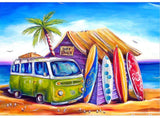 Diamond Painting Surf Shack - OLOEE