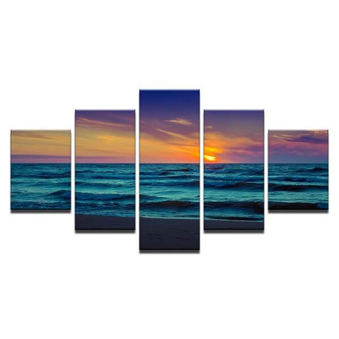 Diamond Painting Sunset Sea - OLOEE