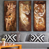 Diamond Painting Tiger Maternal Love - OLOEE
