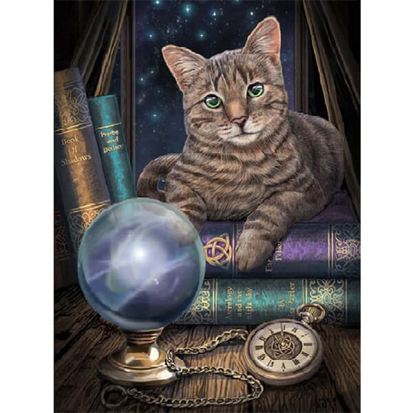 Diamond Oloee Fortune Teller Cat - OLOEE