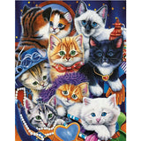 Diamond Painting Cute Cats And Kittens - OLOEE