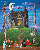 Diamond Painting Haunted Hill Halloween - OLOEE