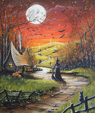 Diamond Painting Haunted Road - OLOEE