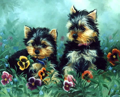 Diamond Painting Friends On Flower Field - OLOEE