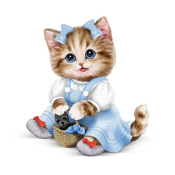 Diamond Painting Cute Kitten Cat - OLOEE