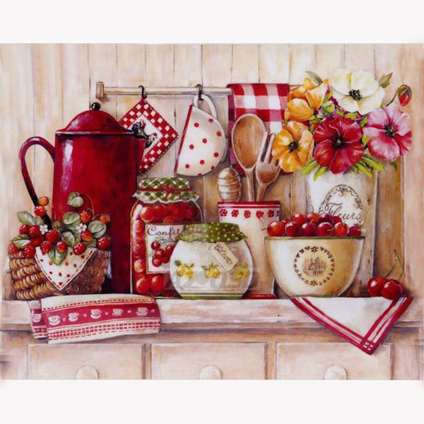 Diamond Painting Kitchen Art - OLOEE