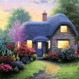 Diamond Painting Forest Cottage - OLOEE