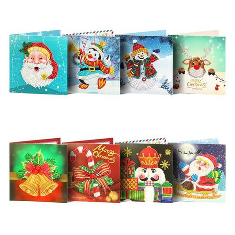 Mega Value Christmas Cards 2 - 8x Pack
