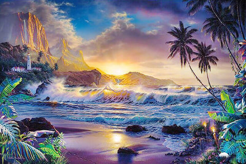 Diamond Painting Beach Scenes - OLOEE
