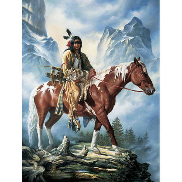 Diamond Painting Indian Horse - OLOEE