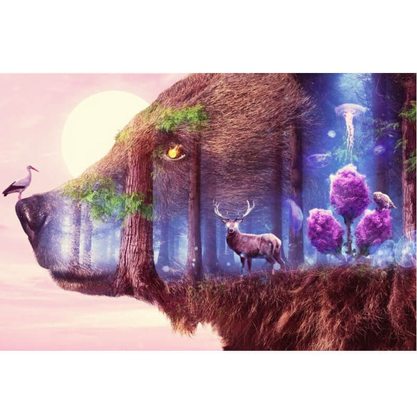 Diamond Painting Fantasy Forest - OLOEE