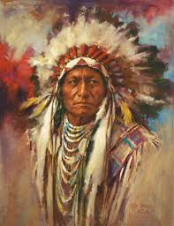 Diamond Painting Indian Chief - OLOEE