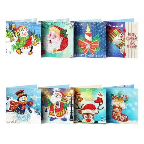 Mega Value Christmas Cards 3 - 8x Pack