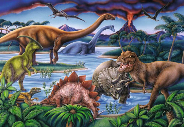 Diamond Painting Dinosaur World - OLOEE