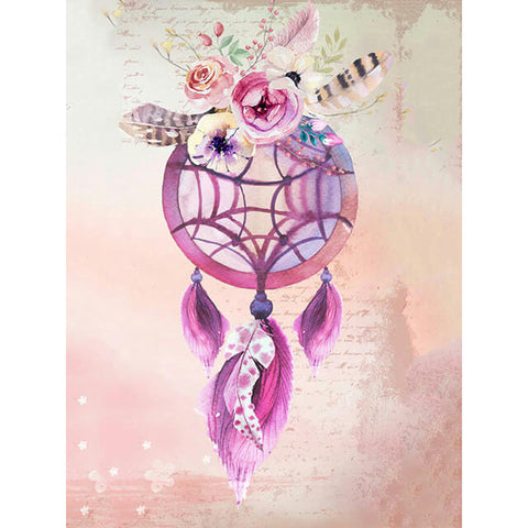 Diamond Painting Floral Dream Catcher - OLOEE