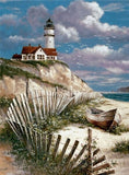 Diamond Painting Lighthouse Full Drill - OLOEE
