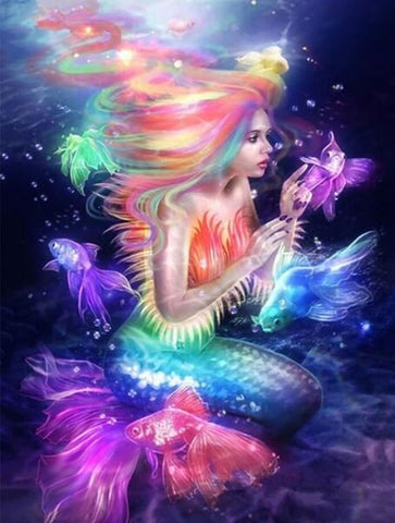 Diamond Painting Mermaid For Adults - OLOEE