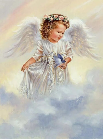 Diamond Painting 5D Angel Art - OLOEE