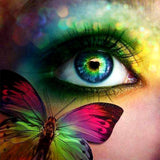 Diamond Painting Butterfly Eye - OLOEE