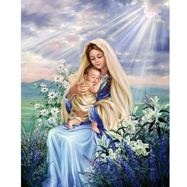Diamond Painting Virgin Mary - OLOEE