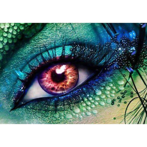 Diamond Painting Galaxy Eyes - OLOEE