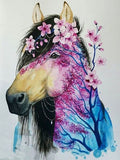 Floral Horse