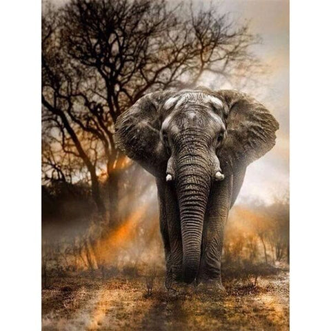Diamond Oloee Giant Elephant Painting - OLOEE