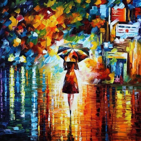 Diamond Painting Rain Princess - OLOEE