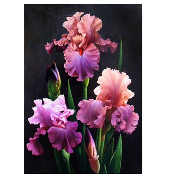 Diamond Painting Diamond Oloee  Flowers 5D - OLOEE