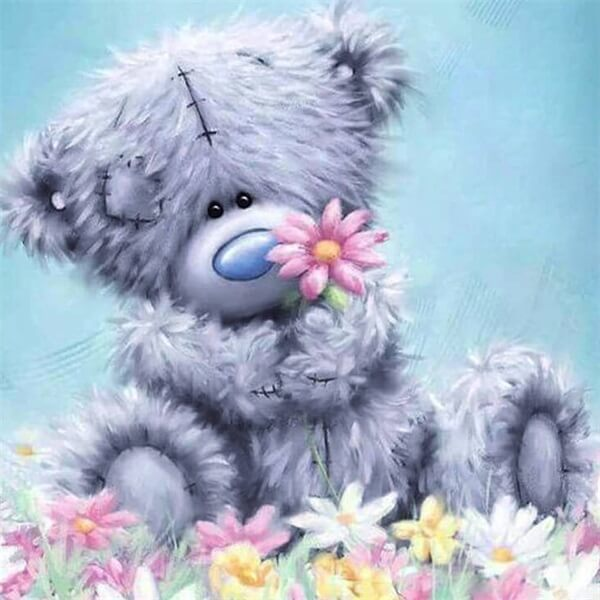 Diamond Painting Plush Bear - OLOEE