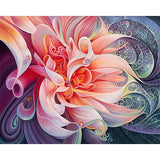 Diamond Painting Pink Flower - OLOEE