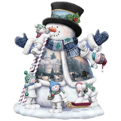 Diamond Painting Snowman Christmas - OLOEE