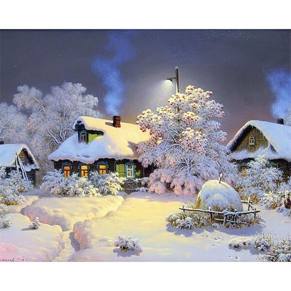 Diamond Oloee Landscape Home Winter - OLOEE