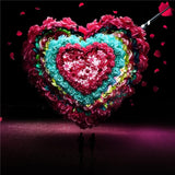 Diamond Painting Heart Rose - OLOEE