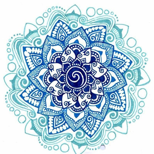 Diamond Painting Simple Mandala - OLOEE
