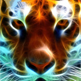 Diamond Painting Tiger Face - OLOEE