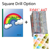 Diamond Painting 447 DMC Diamond Color Chart Book - OLOEE