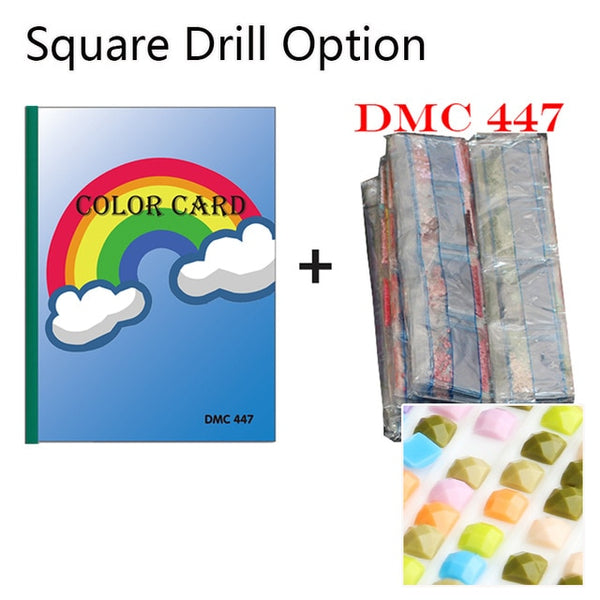 447 DMC Diamond Color Chart Book